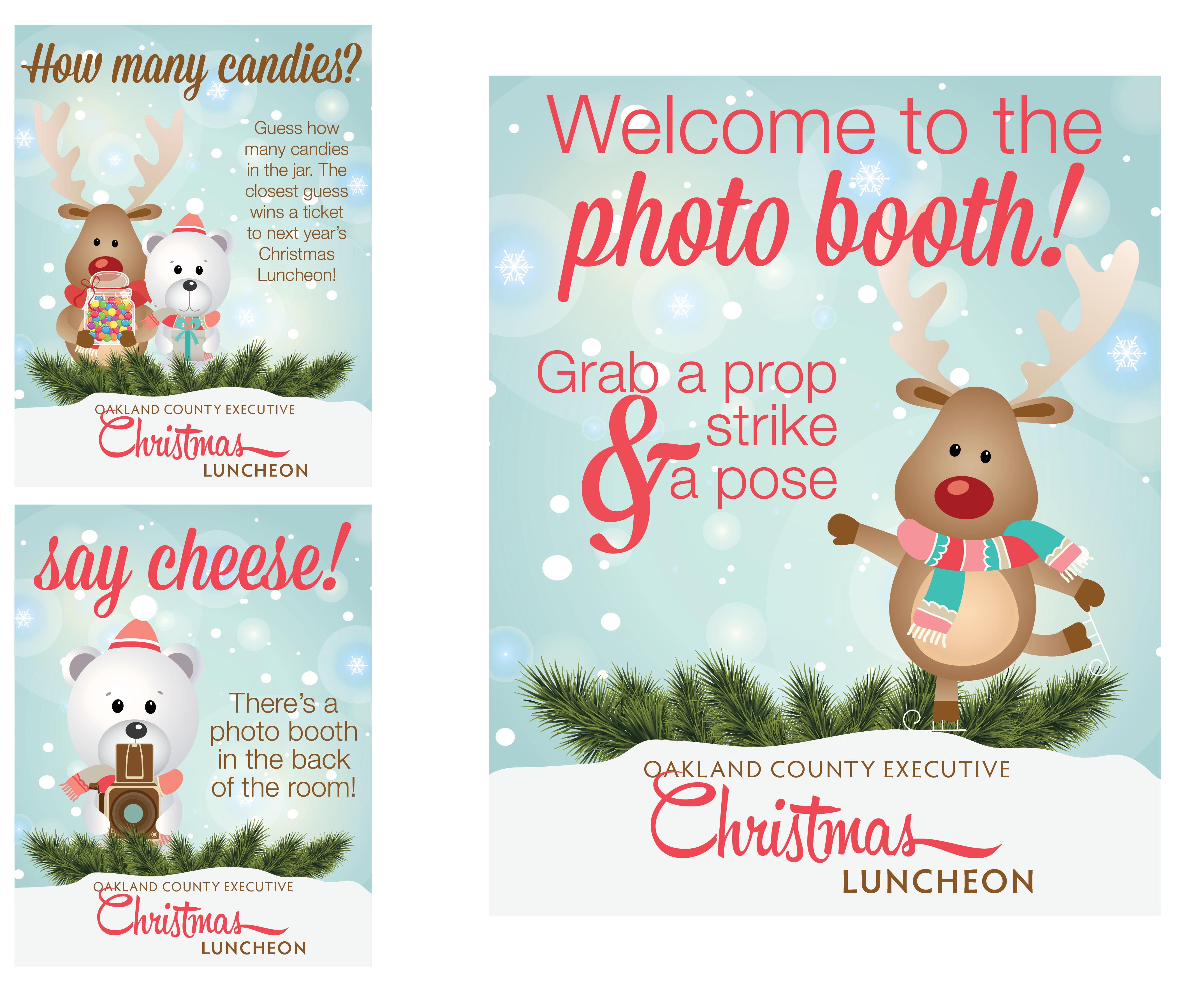 Christmas Luncheon Flyer