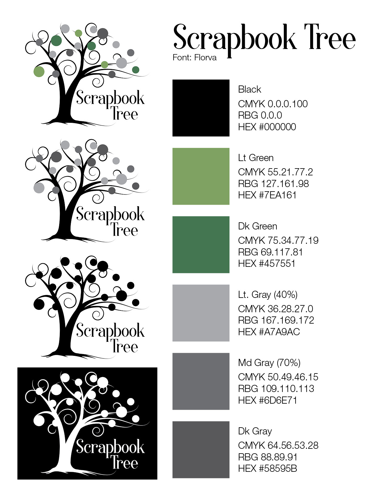 Scrapbook Tree Style Guide